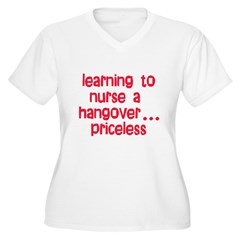 Learning To Nurse A Hangover. T-Shirt