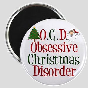 Christmas Crazy Magnet