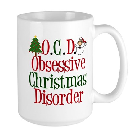 Christmas Crazy Large Mug