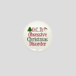 Christmas Crazy Mini Button