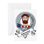 Menzies Clan Badge Greeting Cards (Pk of 10)