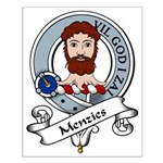 Menzies Clan Badge Small Poster