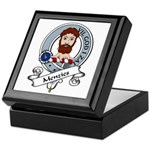 Menzies Clan Badge Keepsake Box
