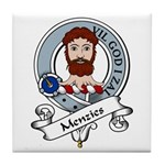 Menzies Clan Badge Tile Coaster