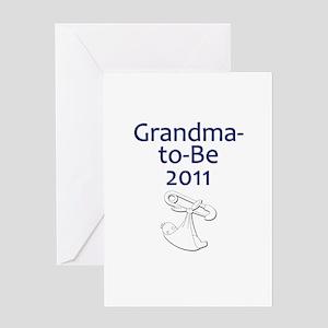 Grandma-to-Be 2011 Greeting Card