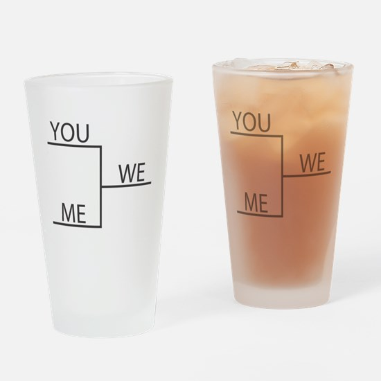 Unique College basketball Drinking Glass