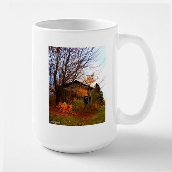 Autumn Shed Large Mug