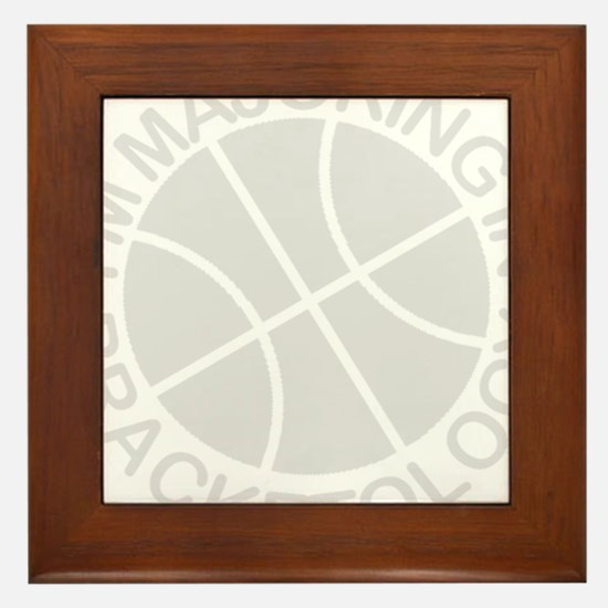 Cool March madness Framed Tile