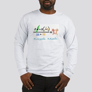 Kayak Math Long Sleeve T-Shirt