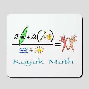 Kayak Math Mousepad