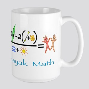 Kayak Math Large Mug