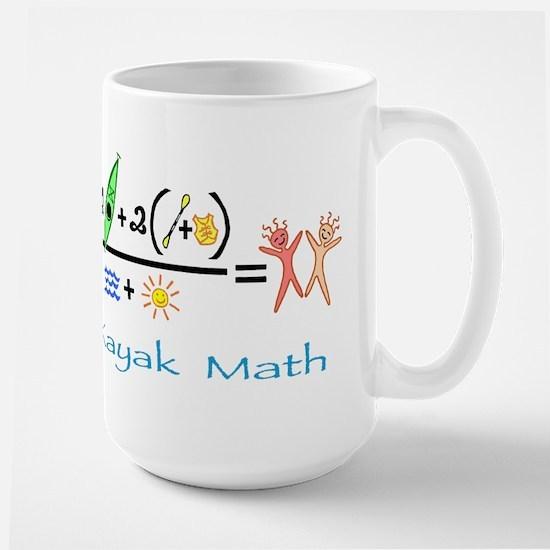 Kayak Math Large Mug