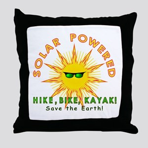 Solar Powered Throw Pillow