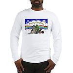X-Music #1-2G-Sheps,2cats Long Sleeve T-Shirt