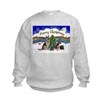 X-Music #1-2G-Sheps,2cats Kids Sweatshirt