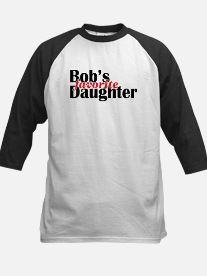 Bob's Daughter Kids Baseball Jersey