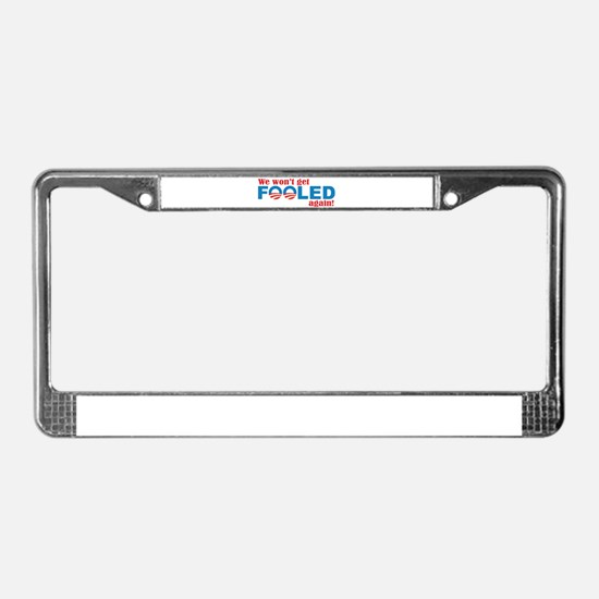 Cute Election 2010 License Plate Frame