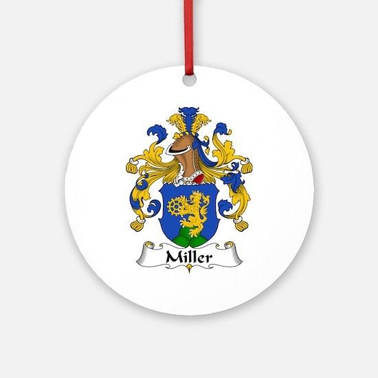 Miller Ornament (Round)