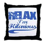 Hilarious Throw Pillow