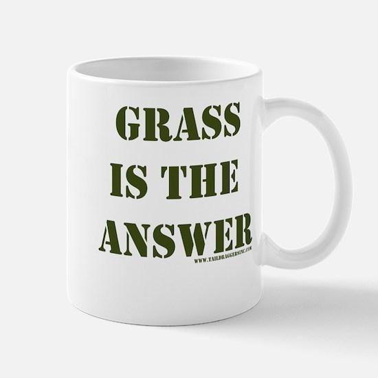 Grass is the Answer Mug