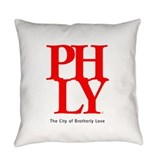 Philadelphia Burlap Pillows