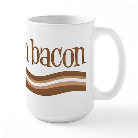 Team Bacon Large Mug