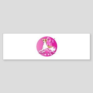 Whippet Sticker (Bumper)