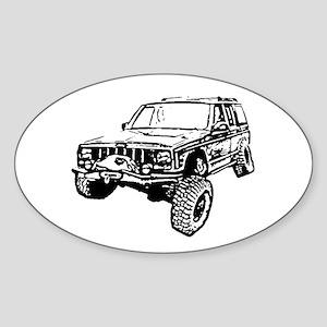 Cherokee Poser (XJ) Sticker