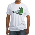 Snowboarding Fitted T-Shirt