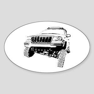 Jeep Grand Cherokee Poser (WJ) Sticker