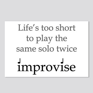 Improvise Solos Postcards (Package of 8)