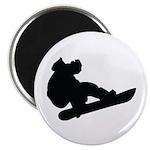 Snowboarding Magnet