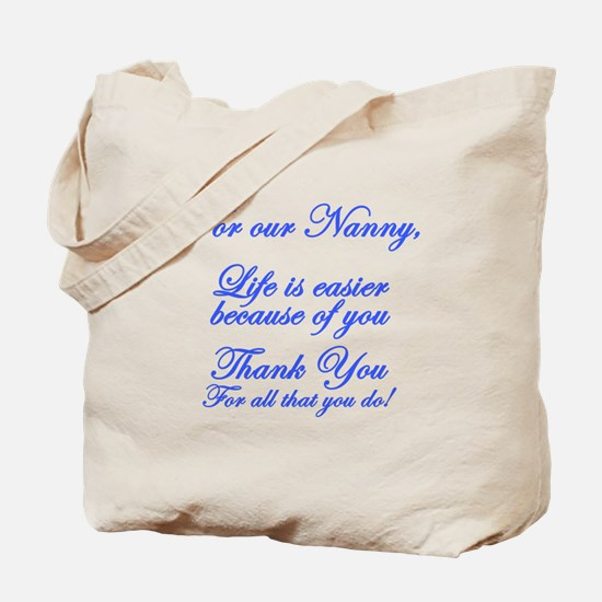 For our Nanny Tote Bag