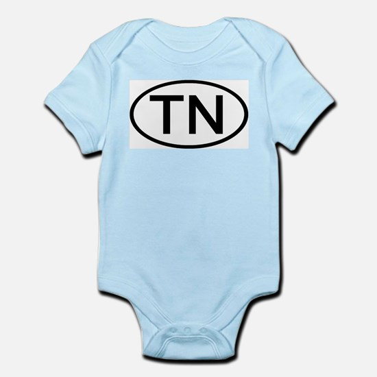 Tennessee - TN - US Oval Infant Creeper