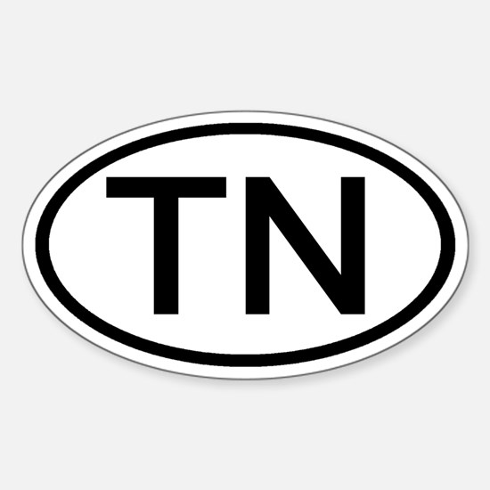 Tennessee - TN - US Oval Oval Decal