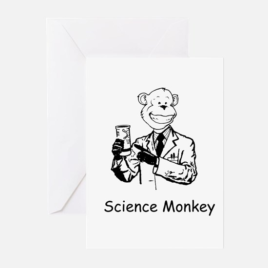 Unique Lab coat Greeting Cards (Pk of 10)