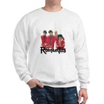 The Romantic's in red leather Mens Sweatshirt