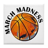 March madness Tile Coasters