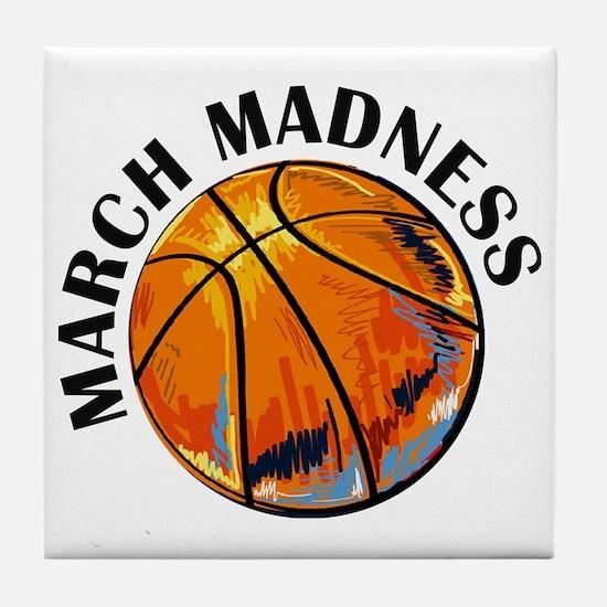 Cute March Tile Coaster