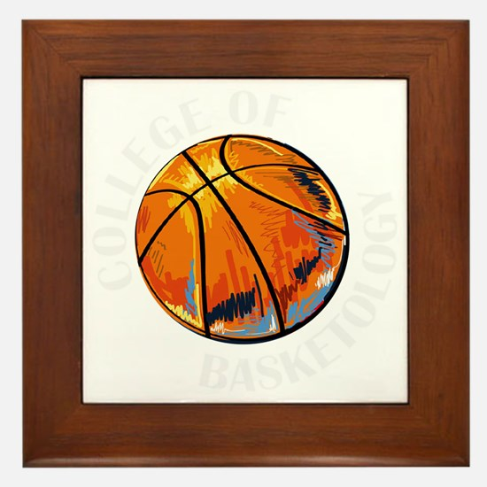 Unique March madness Framed Tile