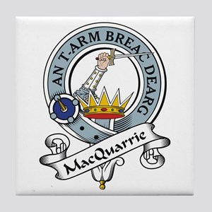 MacQuarrie Clan Badge Tile Coaster