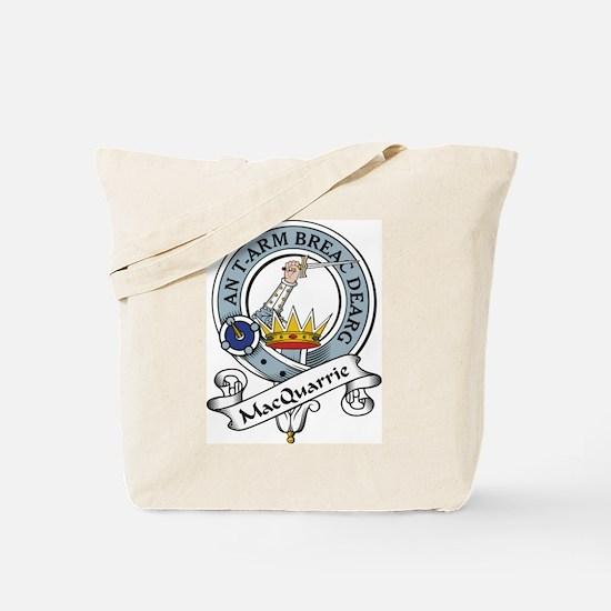 MacQuarrie Clan Badge Tote Bag