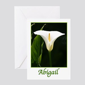 Abigail Greeting Card