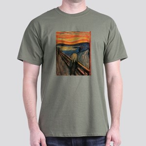 The Scream Skrik Dark T-Shirt