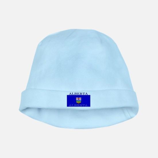 Alberta Albertan Flag baby hat
