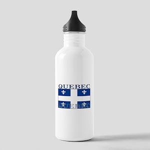 Quebec Quebecer Flag Stainless Water Bottle 1.0L