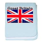 Great Britain British Flag baby blanket