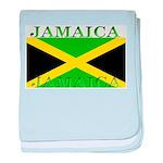 Jamaica Jamaican Flag baby blanket