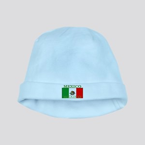 Mexico Mexican Flag baby hat