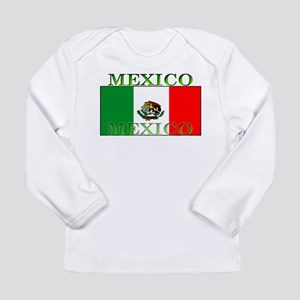 Mexico Mexican Flag Long Sleeve Infant T-Shirt